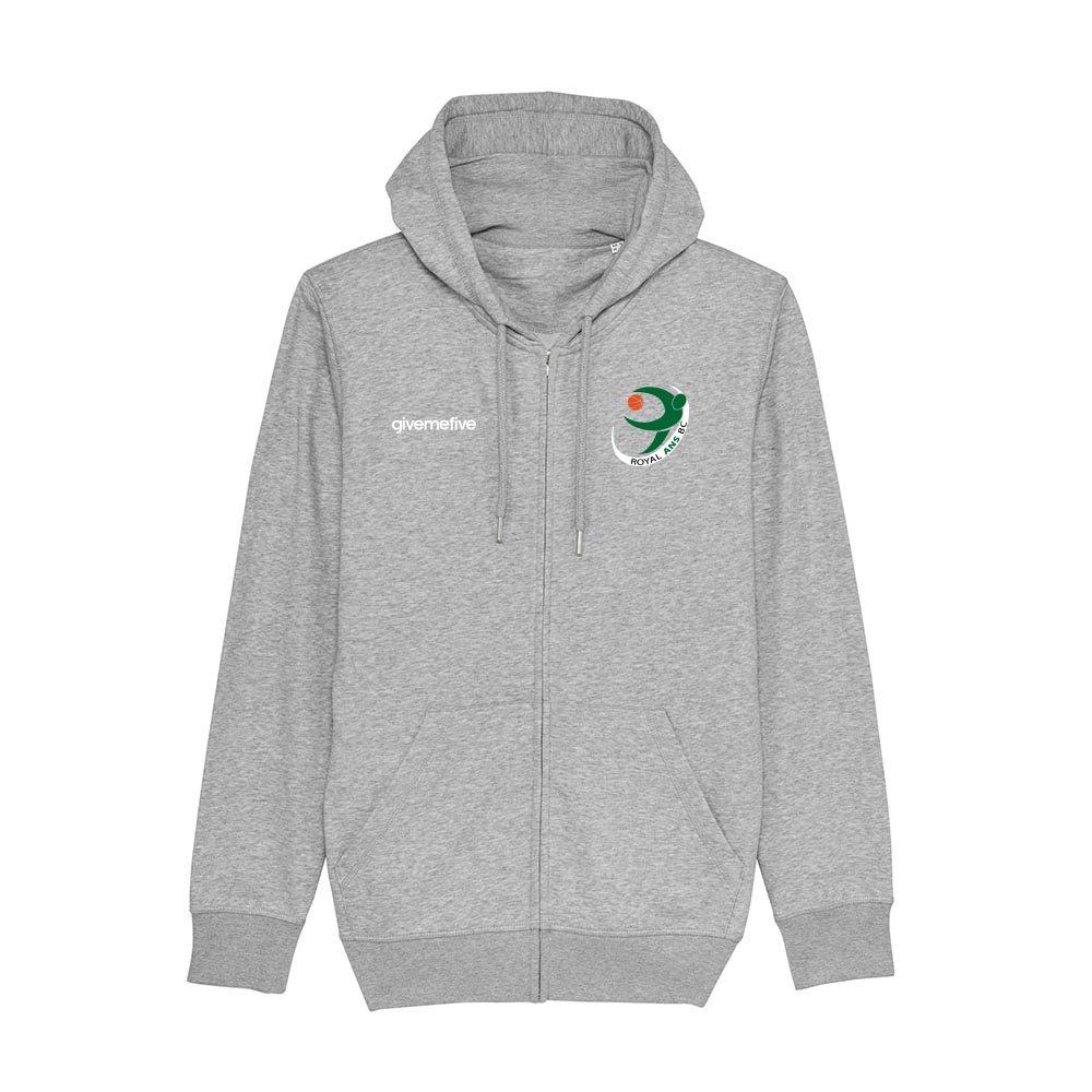 Sweat-shirt capuche zippé – Ans