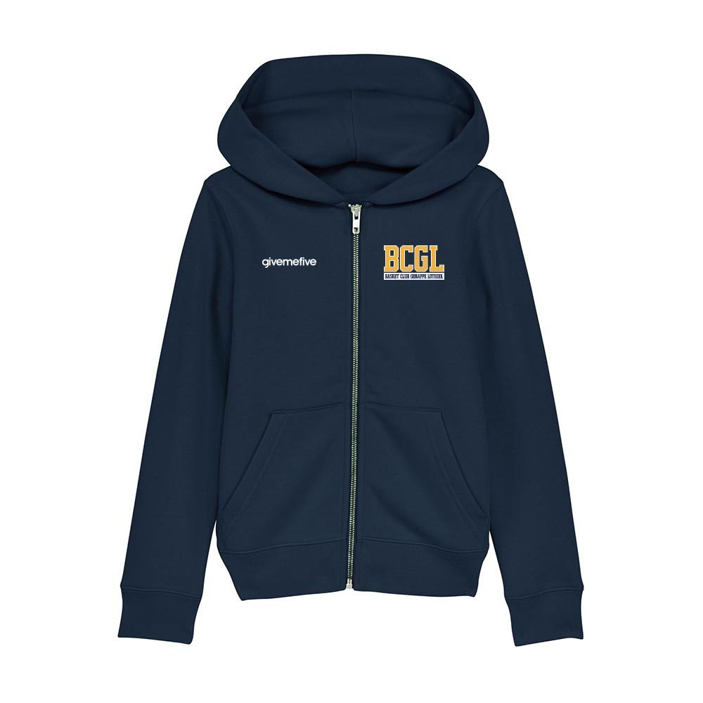 Sweatshirt capuche zippé enfant – BCGL