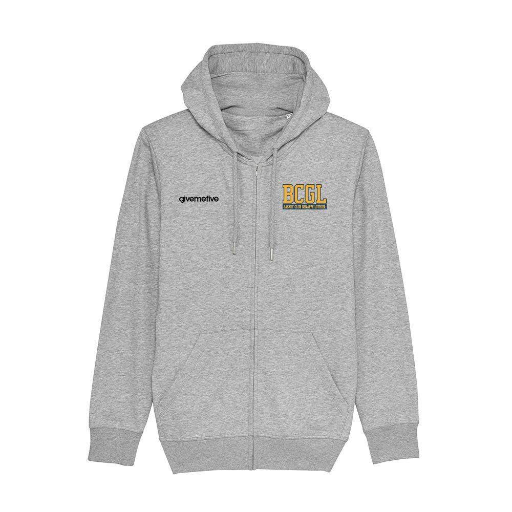 Sweat-shirt capuche zippé – BCGL