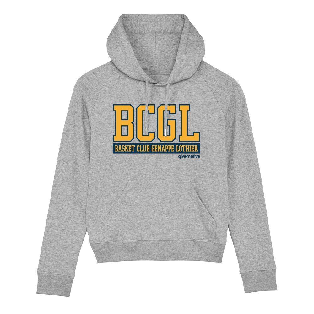 Sweatshirt capuche femme – BCGL