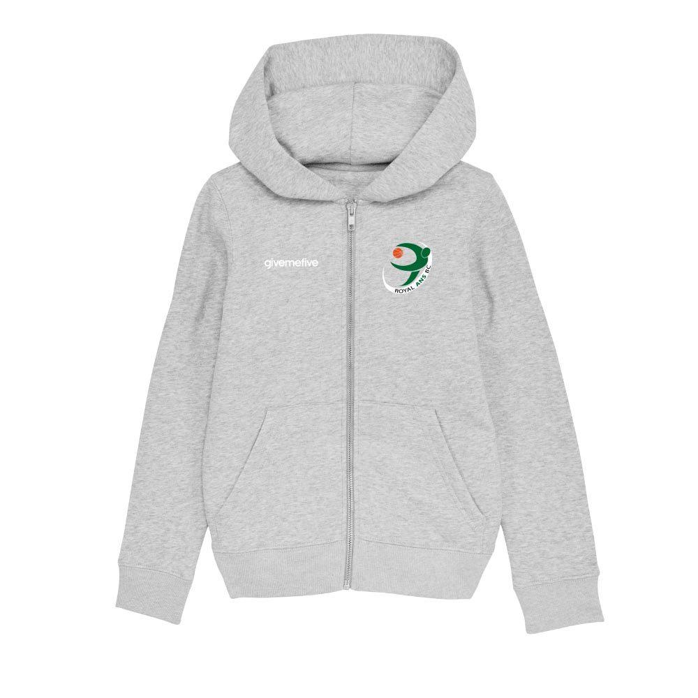 Sweatshirt capuche zip enfant – Ans