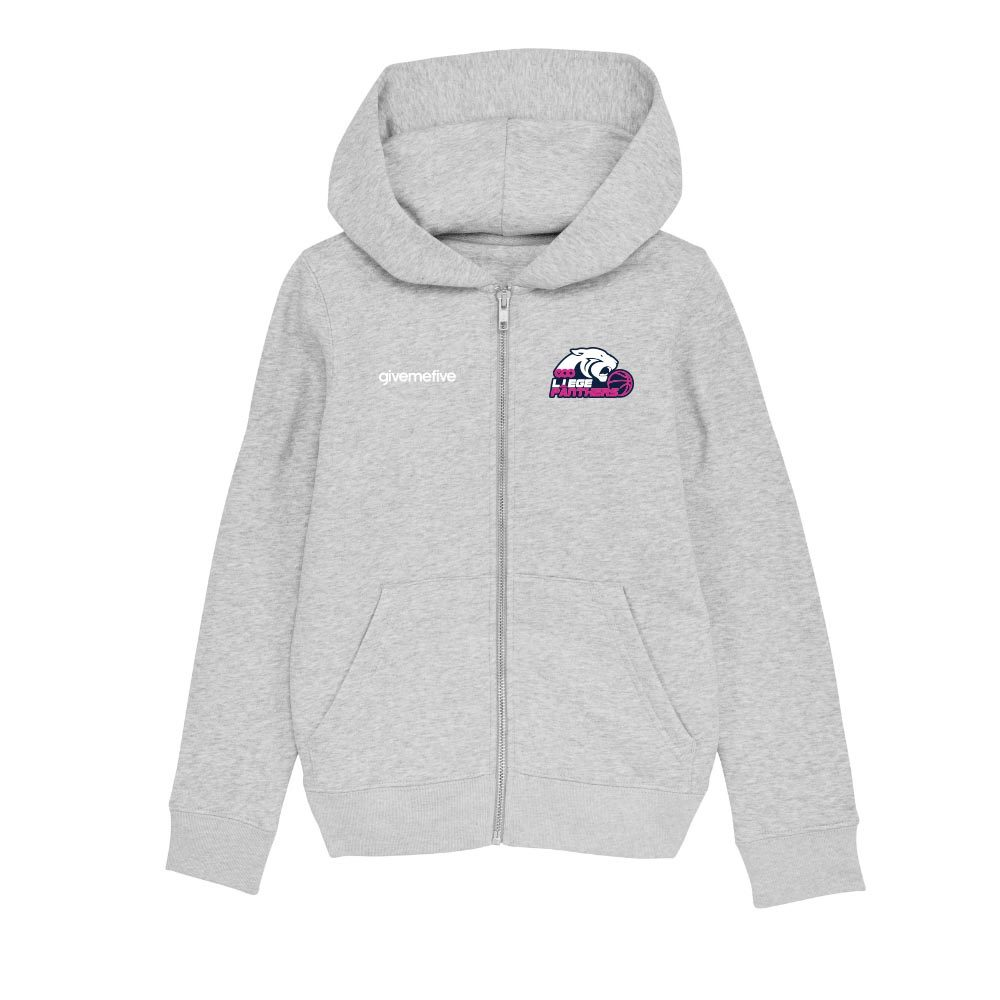 Sweatshirt capuche zip enfant – Liège Panthers