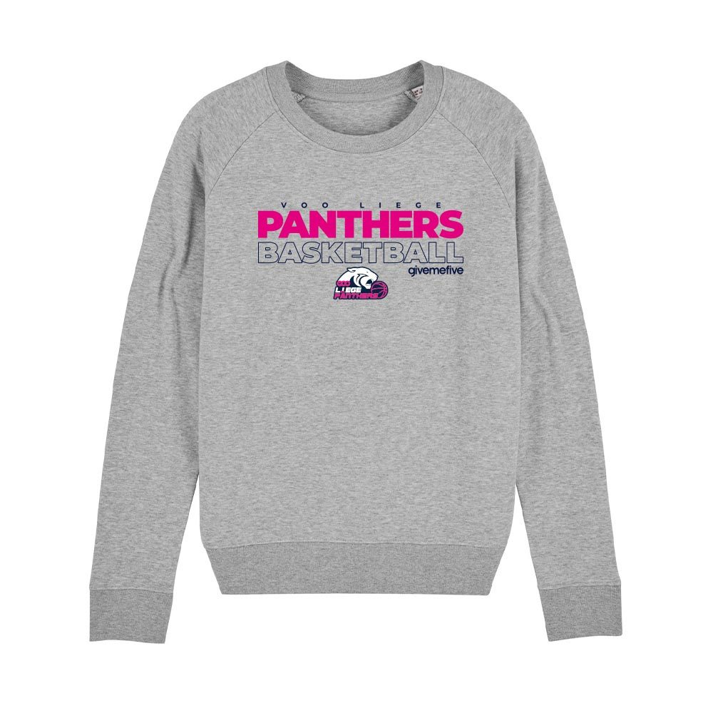 Sweat-shirt col rond femme – Liège Panthers
