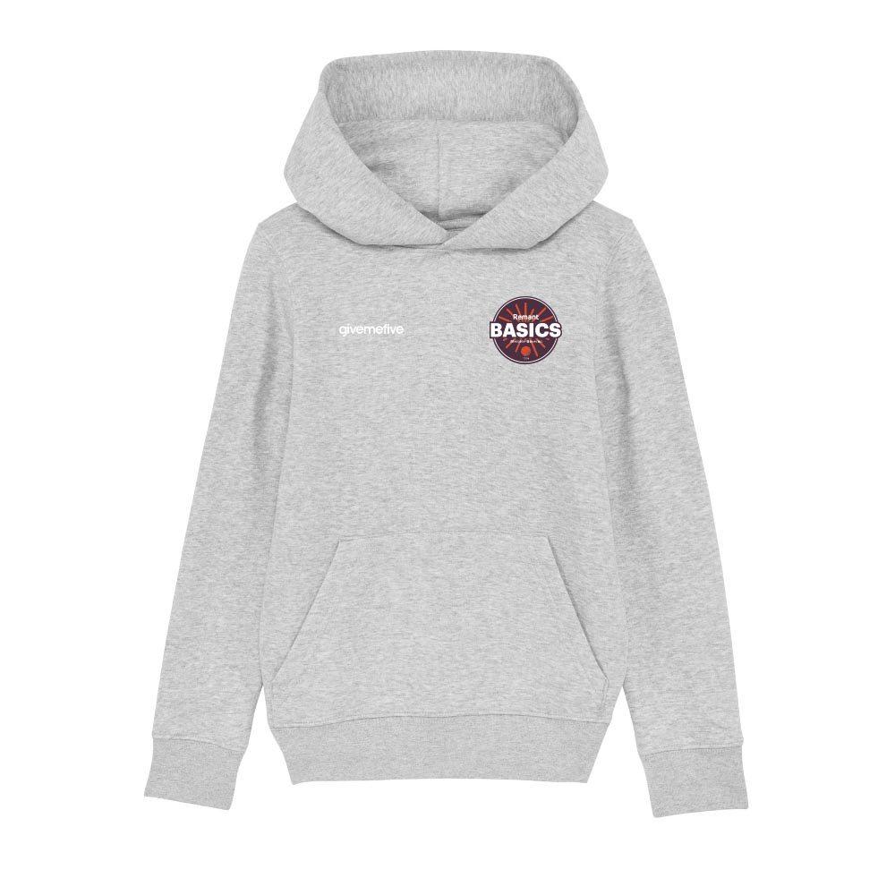 Sweatshirt capuche enfant – Basics Melsele 2nd