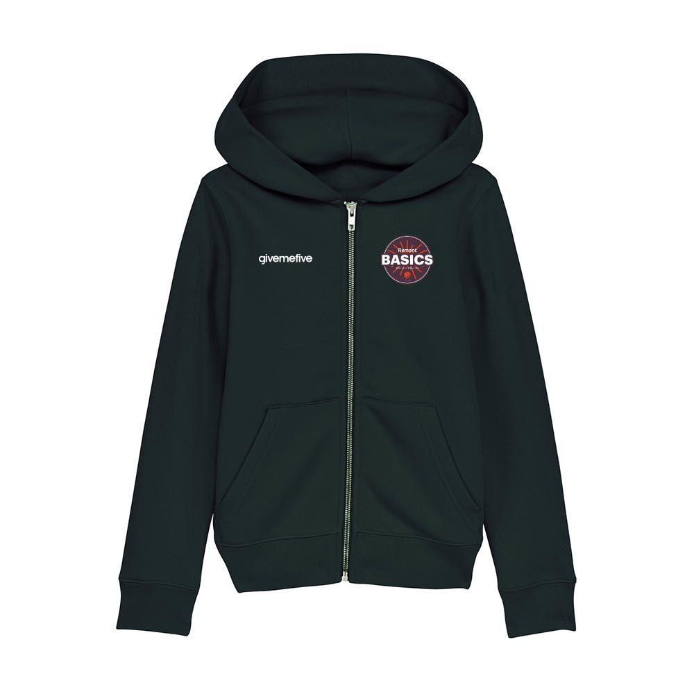 Sweatshirt capuche zip enfant – Basics Melsele