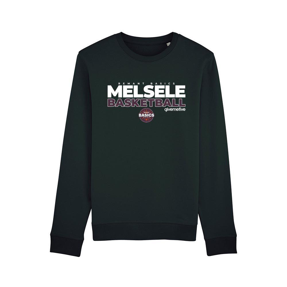 Sweat-shirt col rond – Basics Melsele