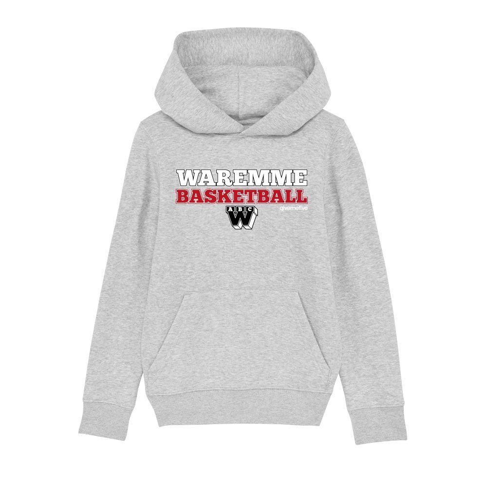 Sweatshirt capuche enfant – Waremme Basketball