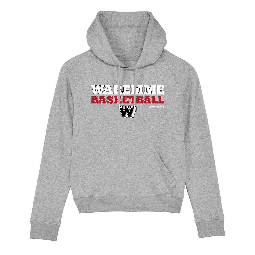 Sweat-shirt capuche femme – Waremme Basketball