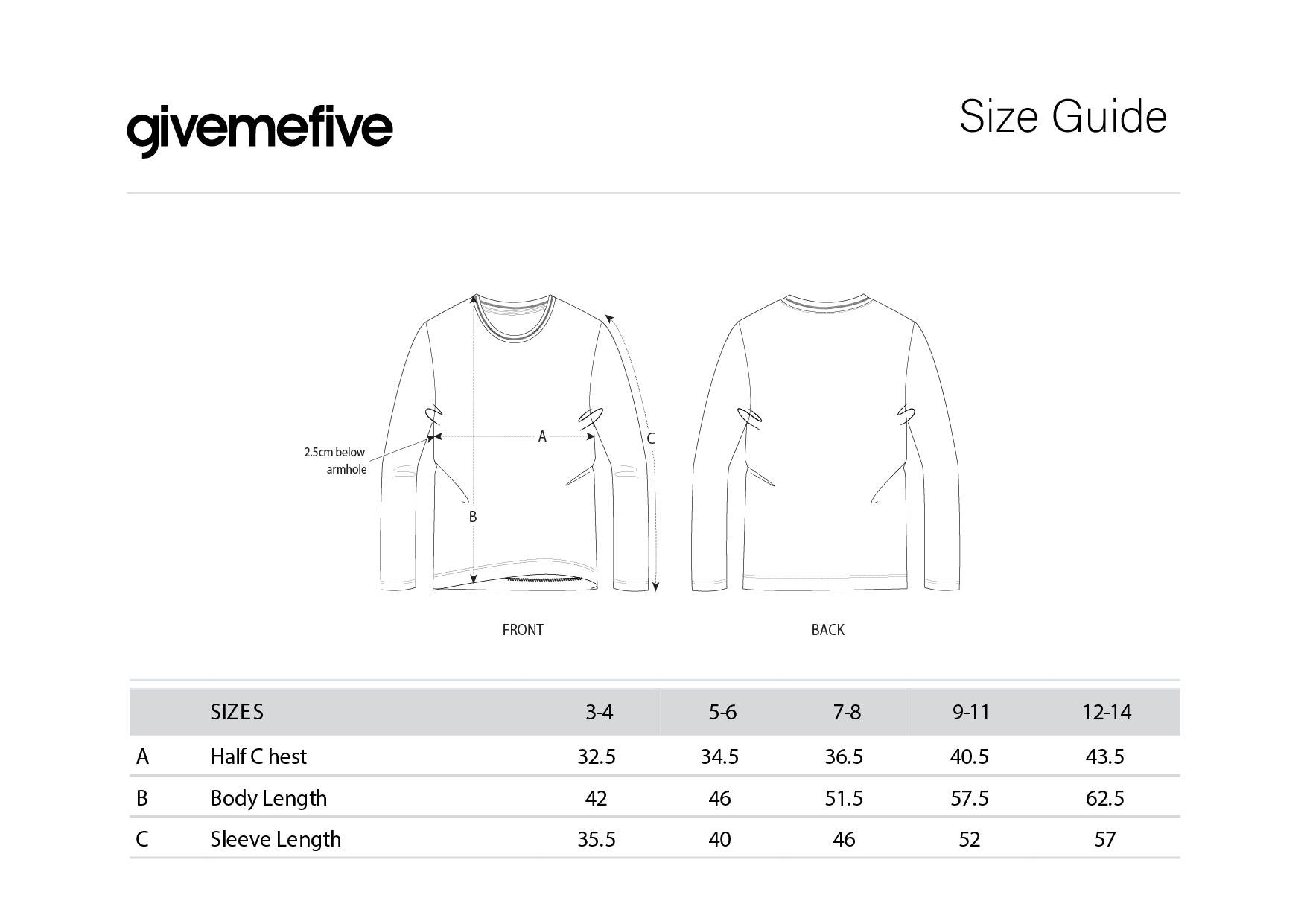 givemefive_taille_enfant_t-shirt_ml