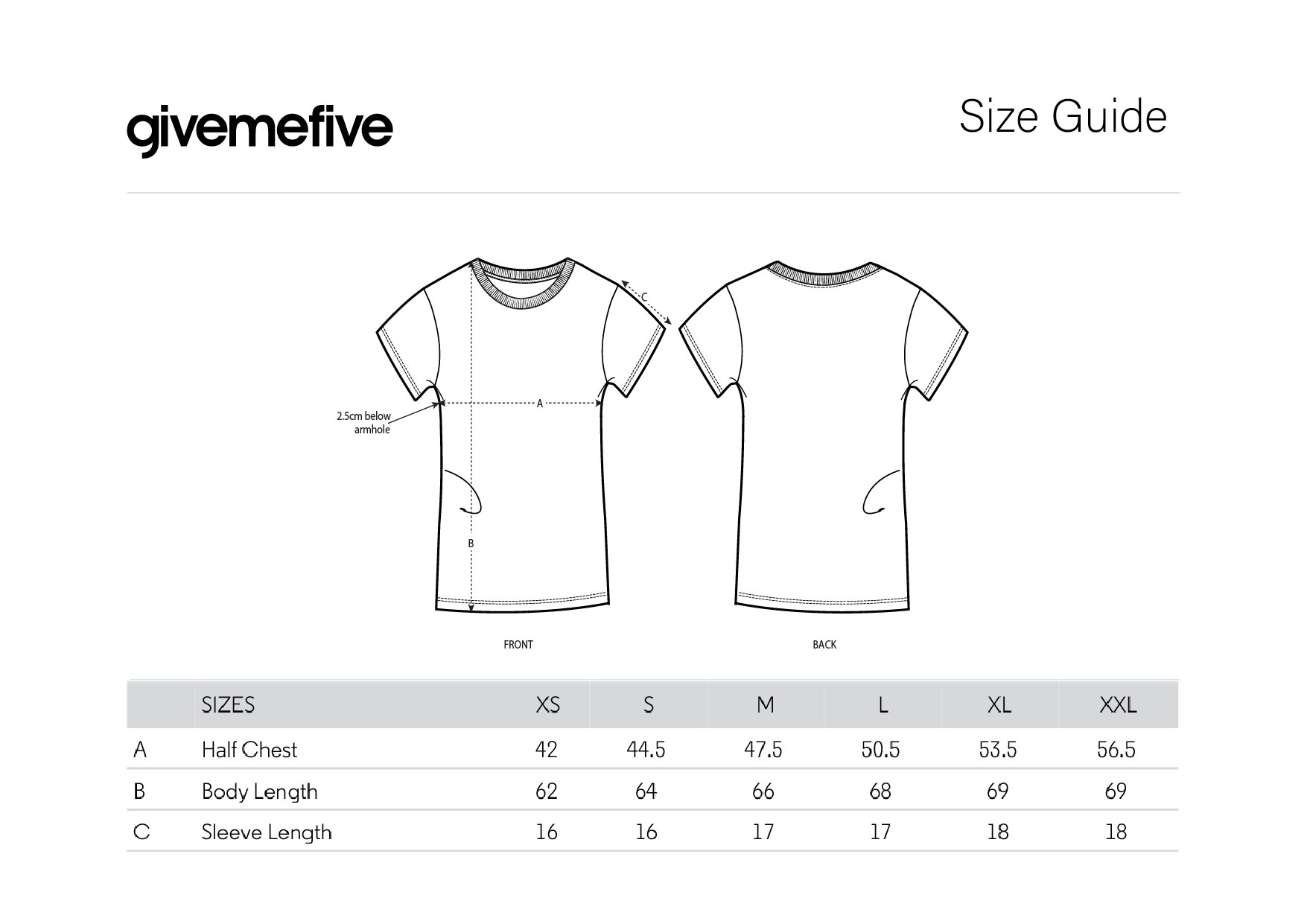 givemefive_taille_femme_t-shirt