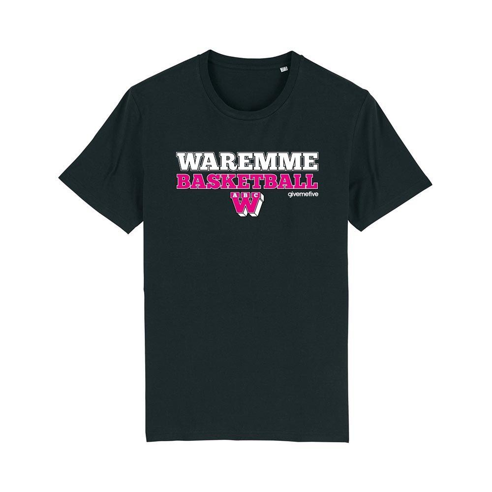 T-shirt – Waremme Basketball black/pink