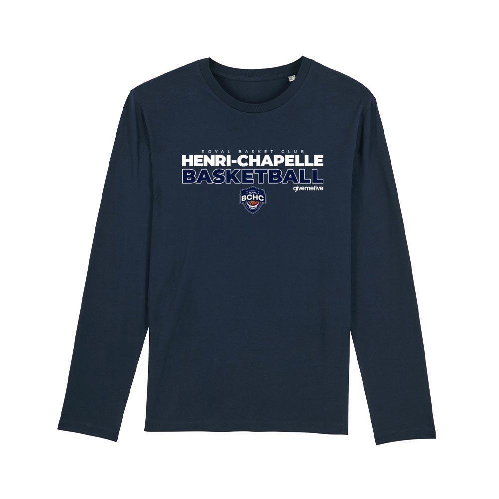T-shirt manches longues enfant – Henri-Chapelle Basketball
