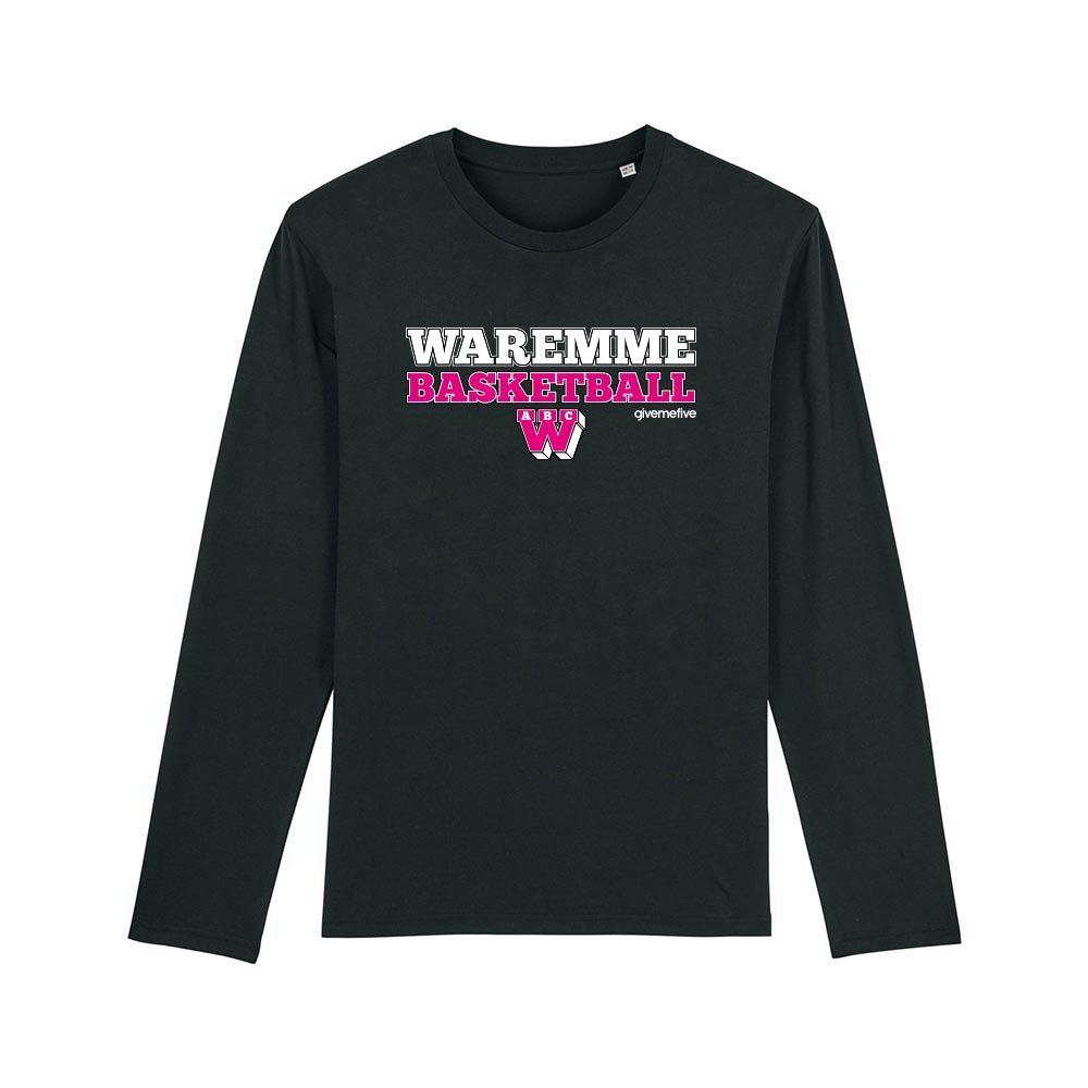 T-shirt manches longues – Waremme Basketball black/pink