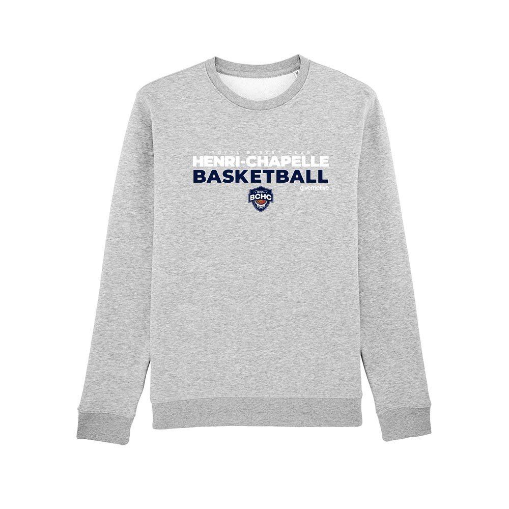 Sweat-shirt col rond – Henri-Chapelle Basketball