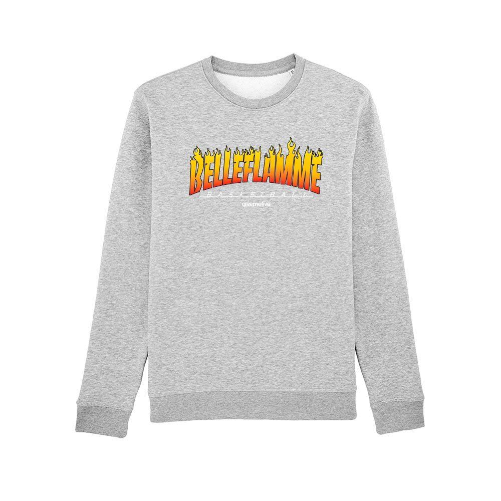 Sweat-shirt col rond – Belleflamme
