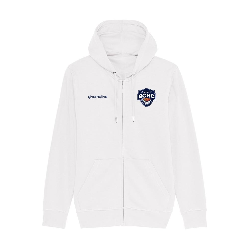 Sweat-shirt capuche zippé – Henri-Chapelle