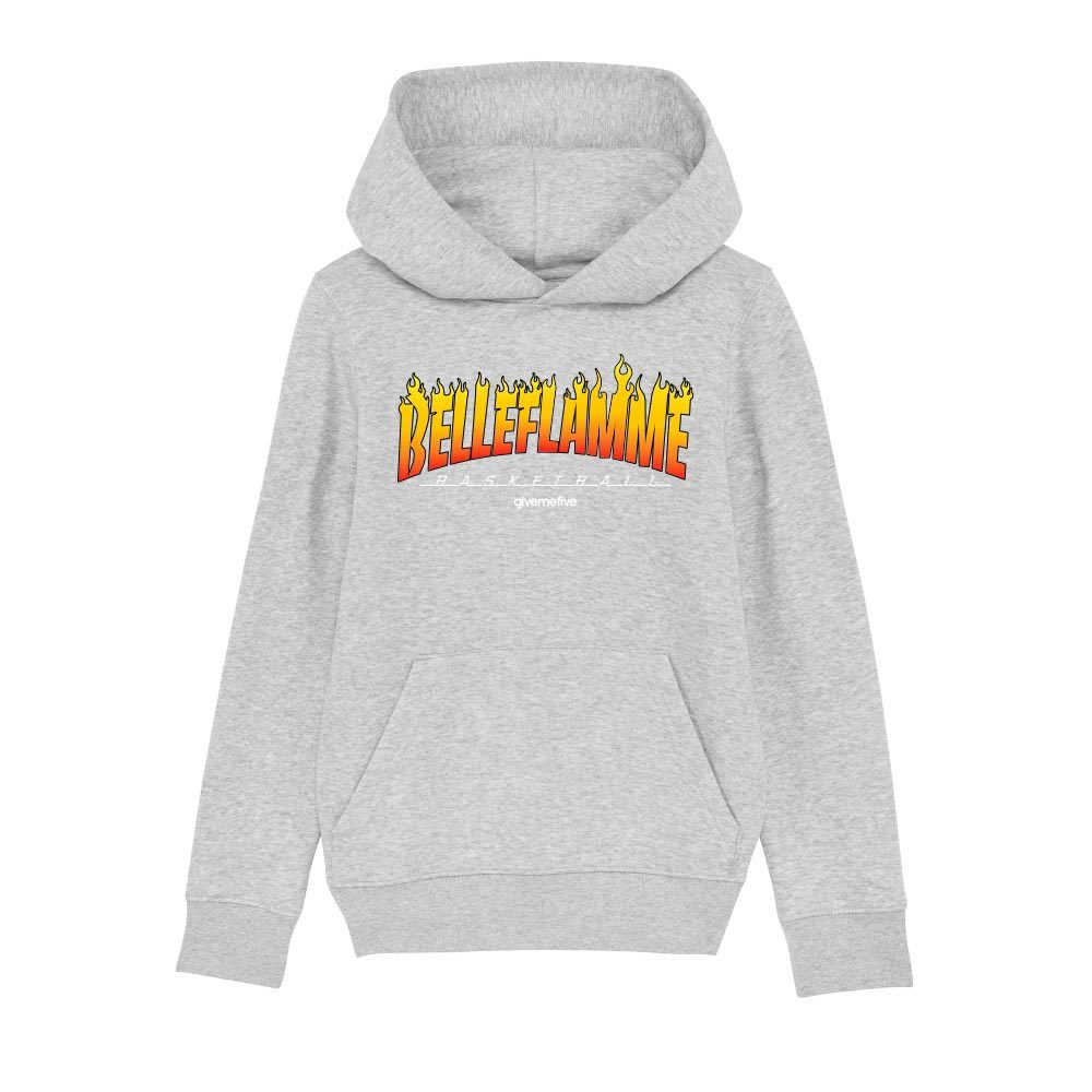 Sweatshirt capuche enfant – Belleflamme