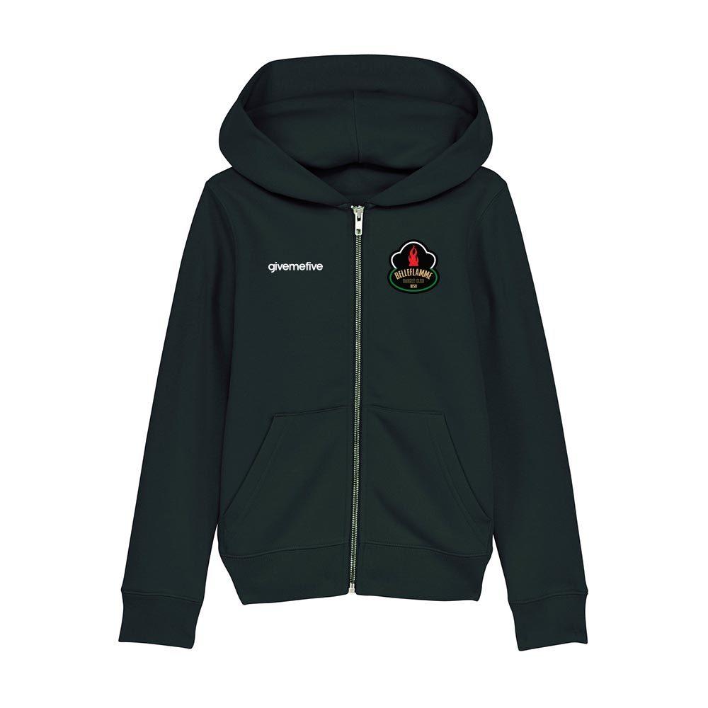 Sweatshirt capuche zip enfant – Belleflamme