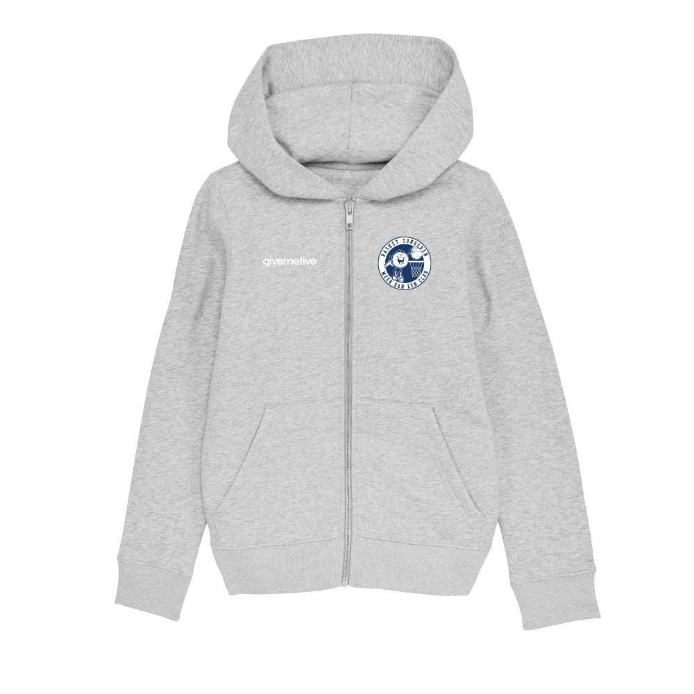 Sweatshirt capuche zip enfant – Tongeren Basketball