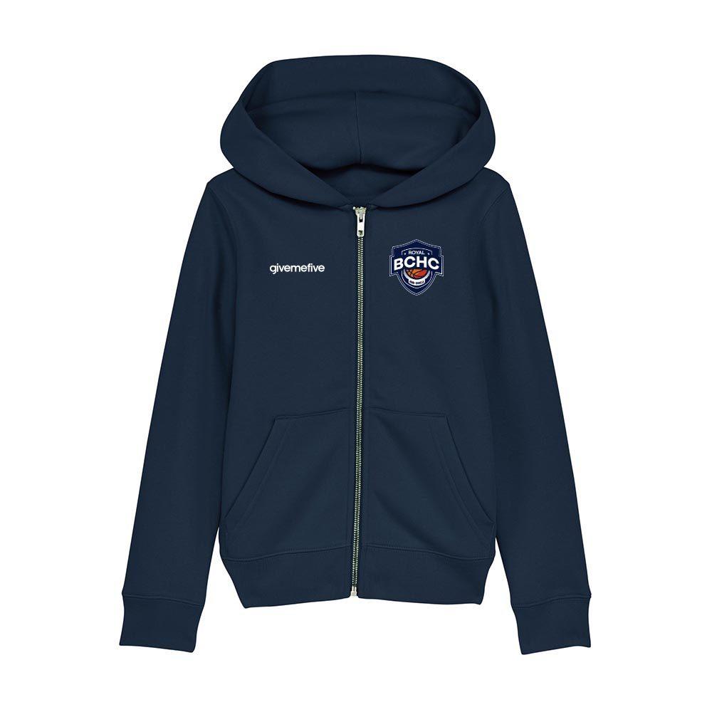 Sweatshirt capuche zip enfant – Henri-Chapelle