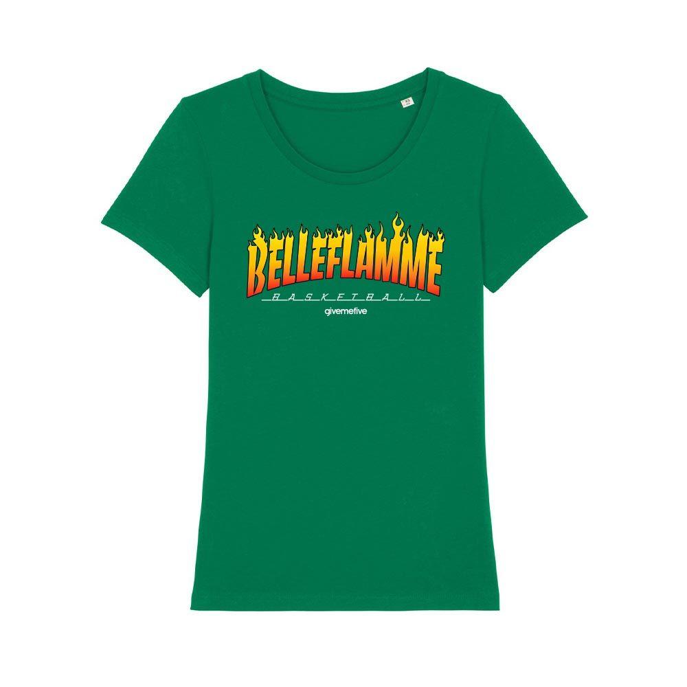 T-shirt femme - Belleflamme