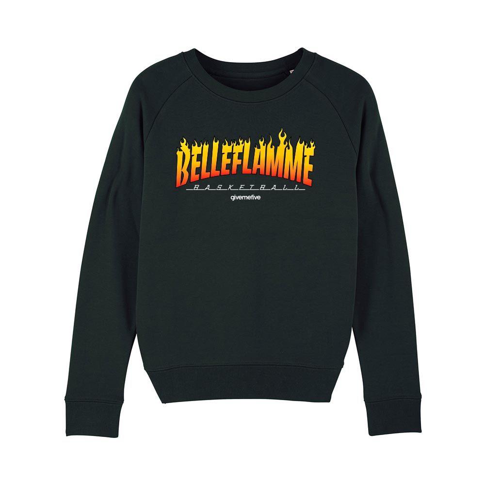 Sweat-shirt col rond femme – Belleflamme
