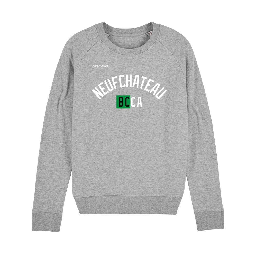 Sweat-shirt col rond femme – BCCA