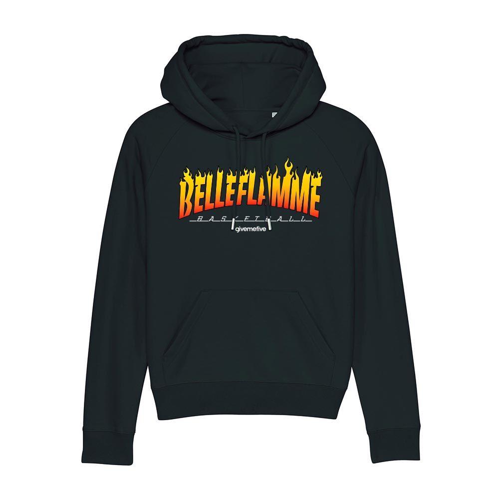Sweat-shirt capuche femme – Belleflamme
