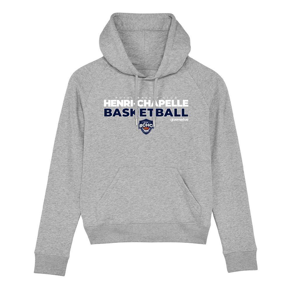 Sweat-shirt capuche femme – Henri-Chapelle Basketball