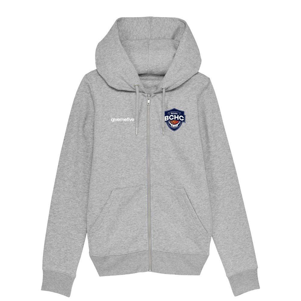 Sweat-shirt capuche zippé femme – Henri-Chapelle Basketball