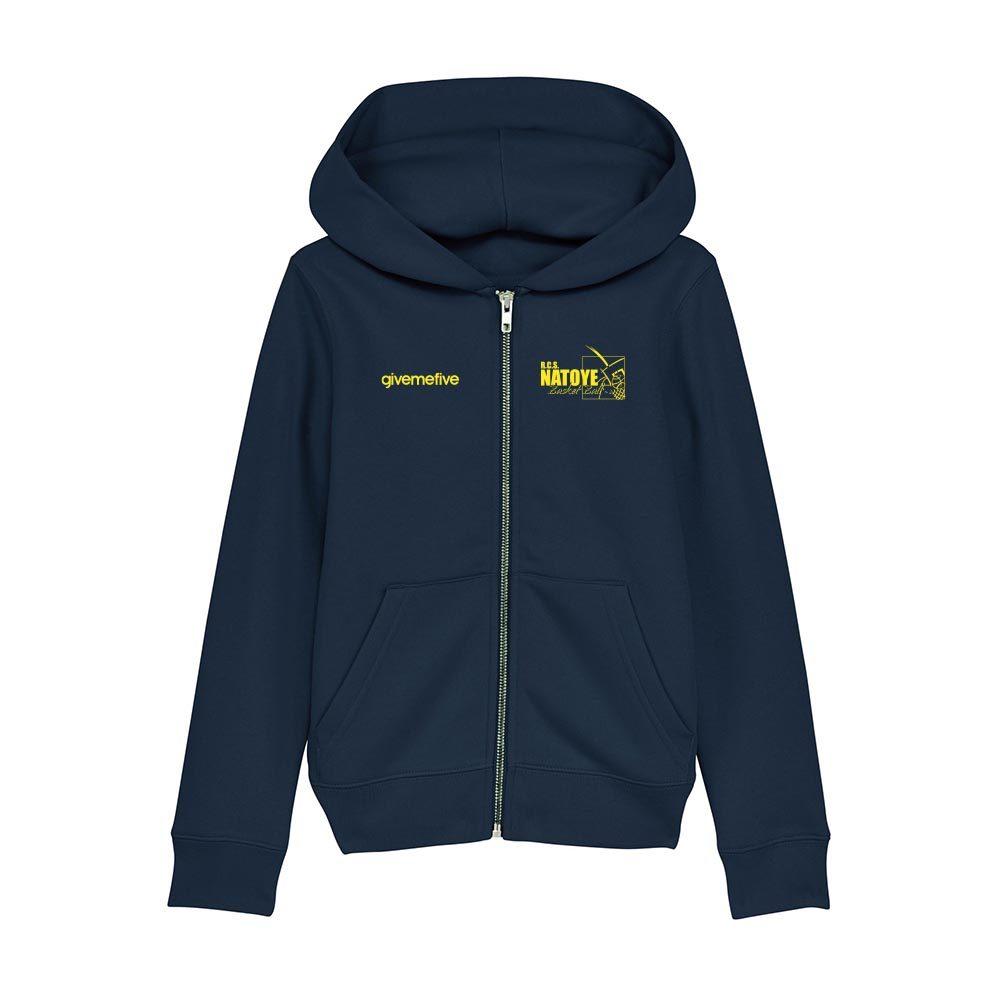 Sweatshirt capuche zip enfant – Natoye