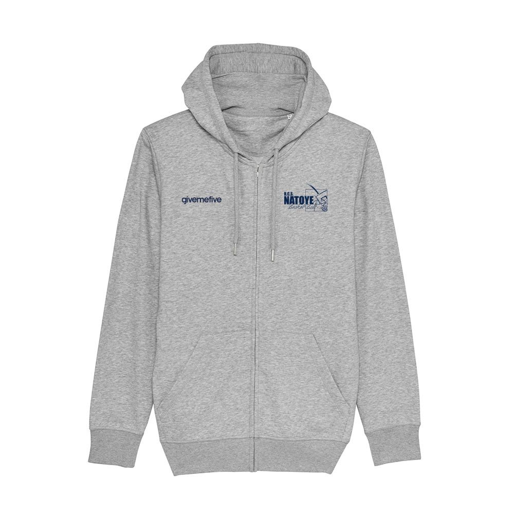 Sweat-shirt capuche zippé – Natoye
