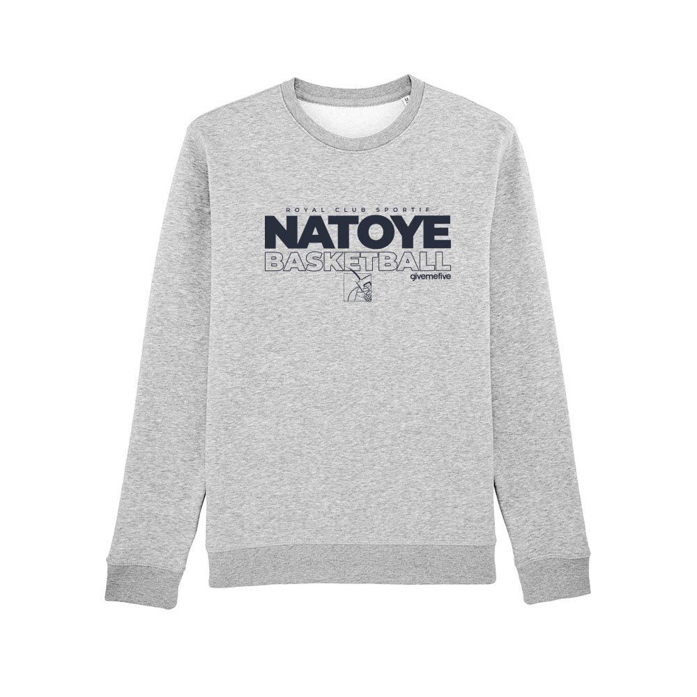 Sweat-shirt col rond – Natoye Basketball