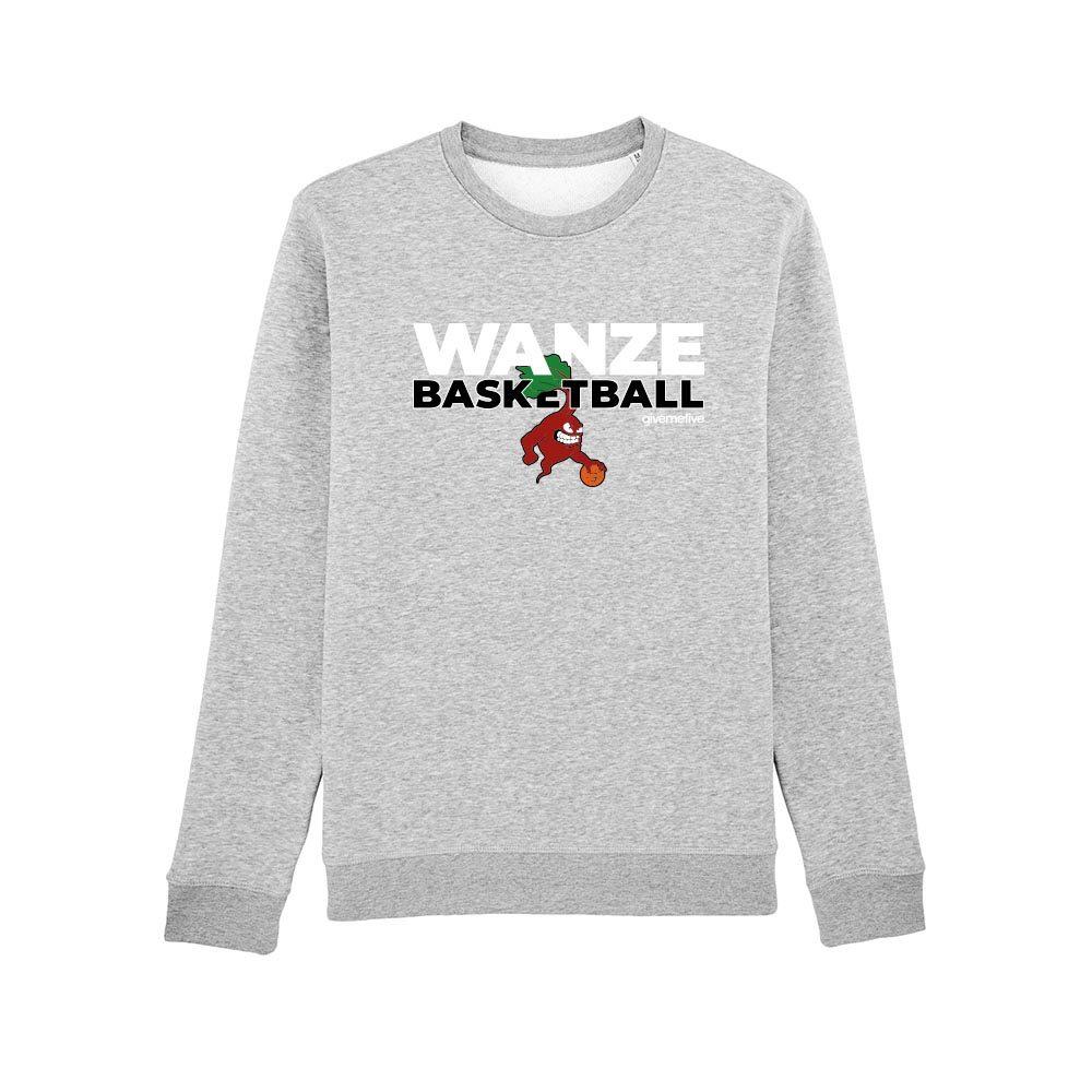 Sweat-shirt col rond – Wanze Basketball