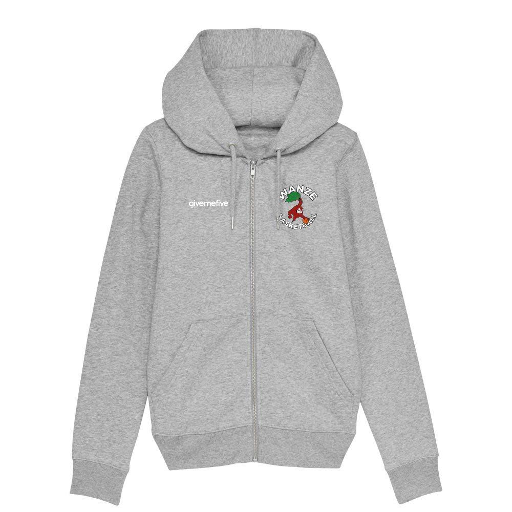 Sweat-shirt capuche zippé femme – Wanze