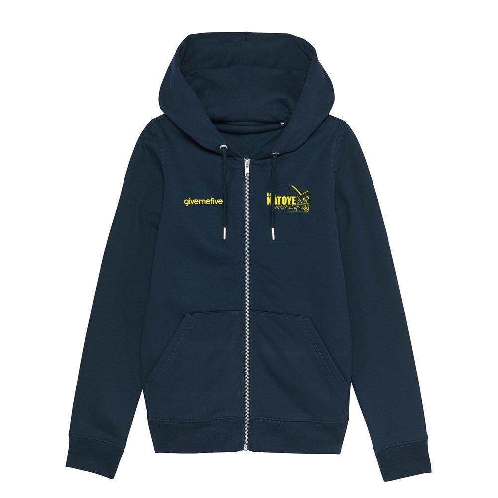 Sweat-shirt capuche zippé femme – Natoye