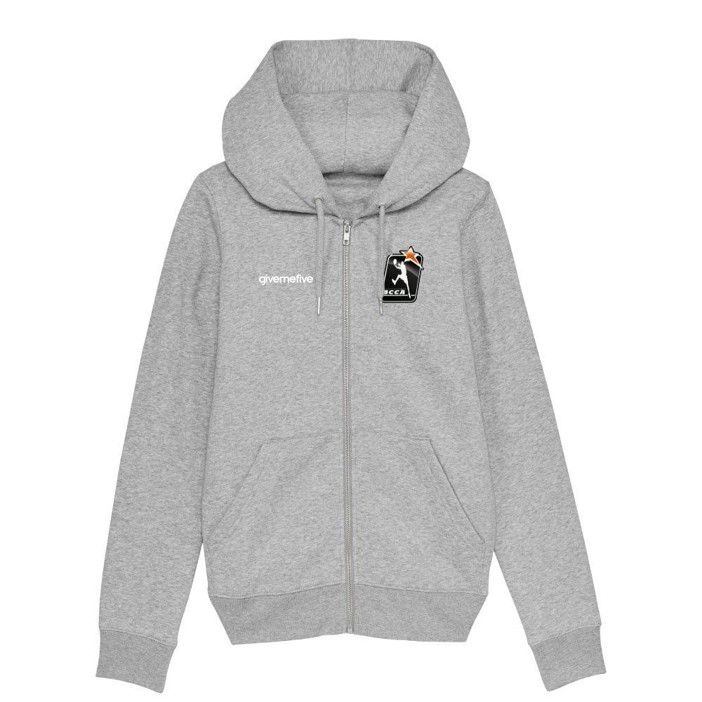 Sweat-shirt capuche zippé femme – BCCA