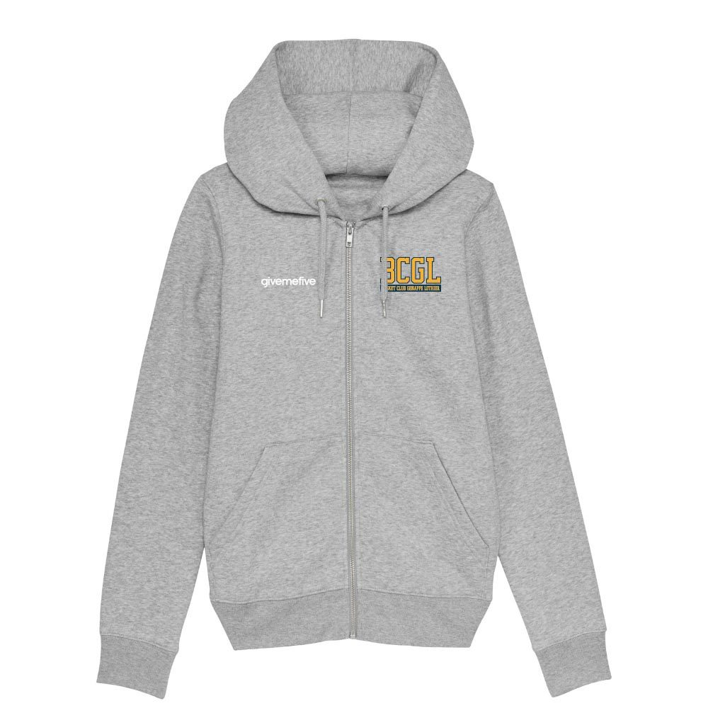 Sweat-shirt capuche zippé femme – BCGL