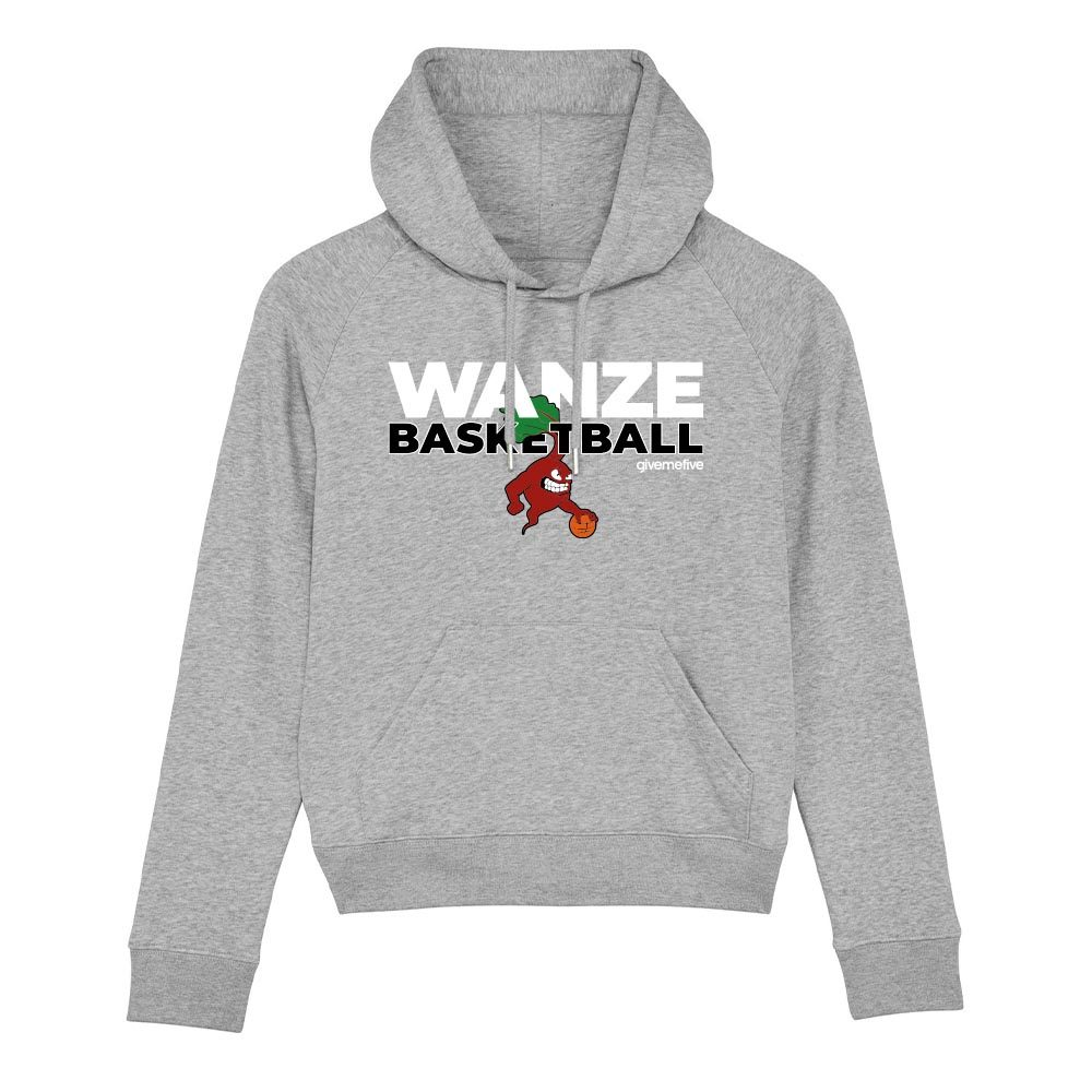 Sweat-shirt capuche femme – Wanze Basketball