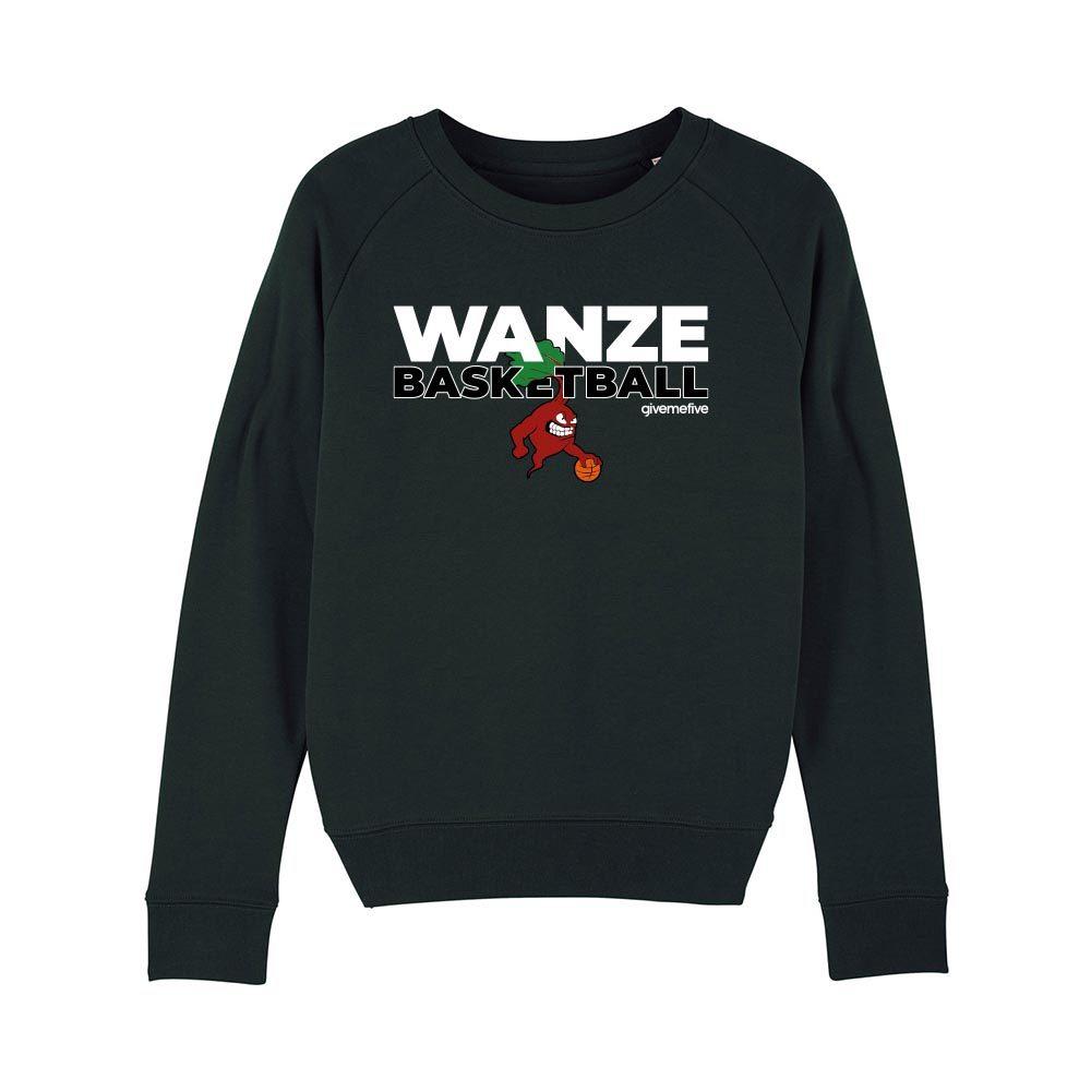 Sweat-shirt col rond femme – Wanze Basketball