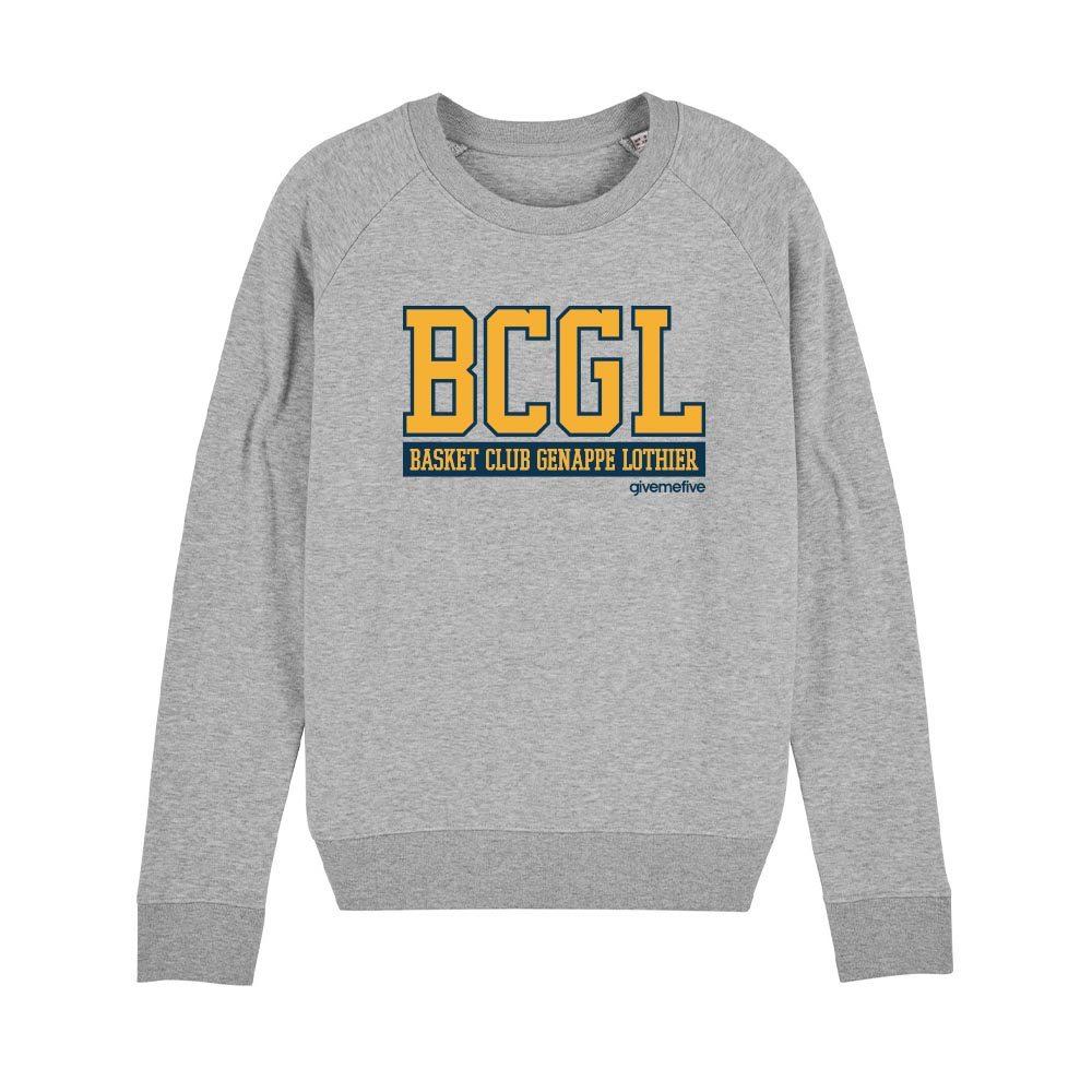 Sweat-shirt col rond femme – BCGL