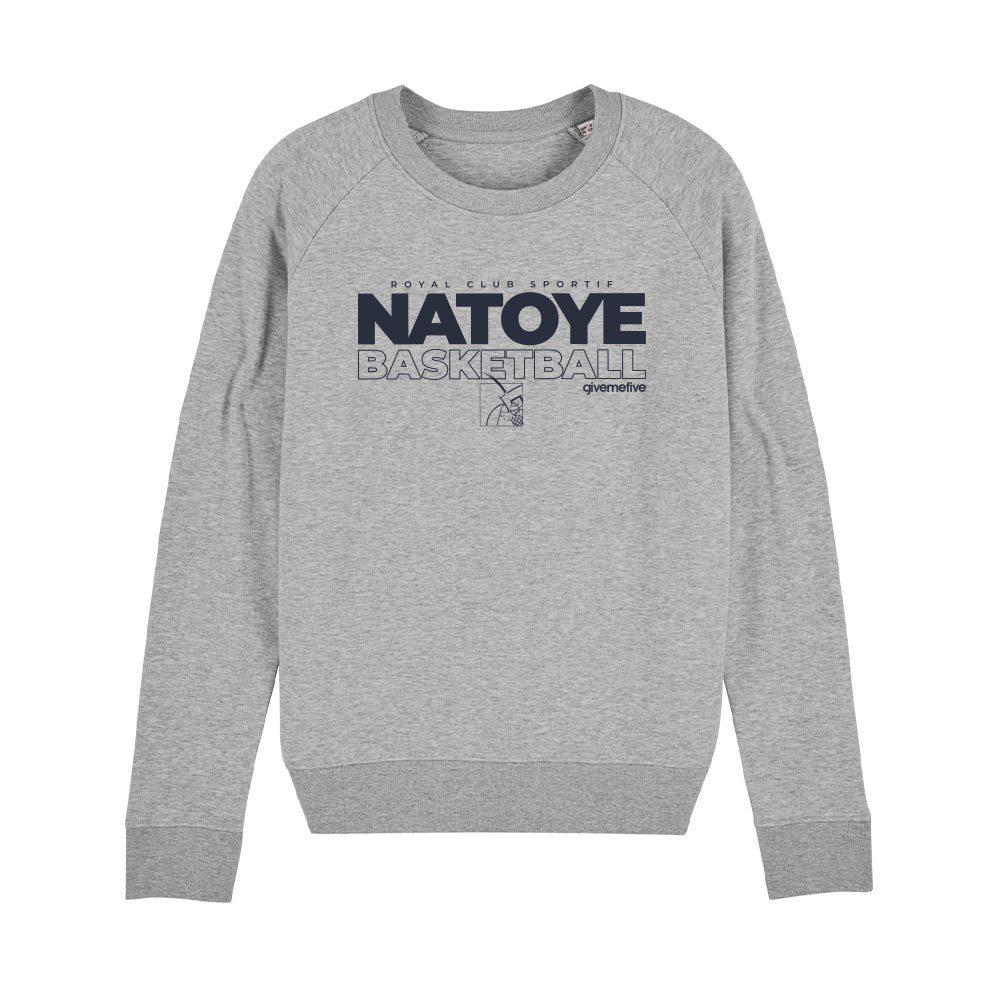 Sweat-shirt col rond femme – Natoye Basketball
