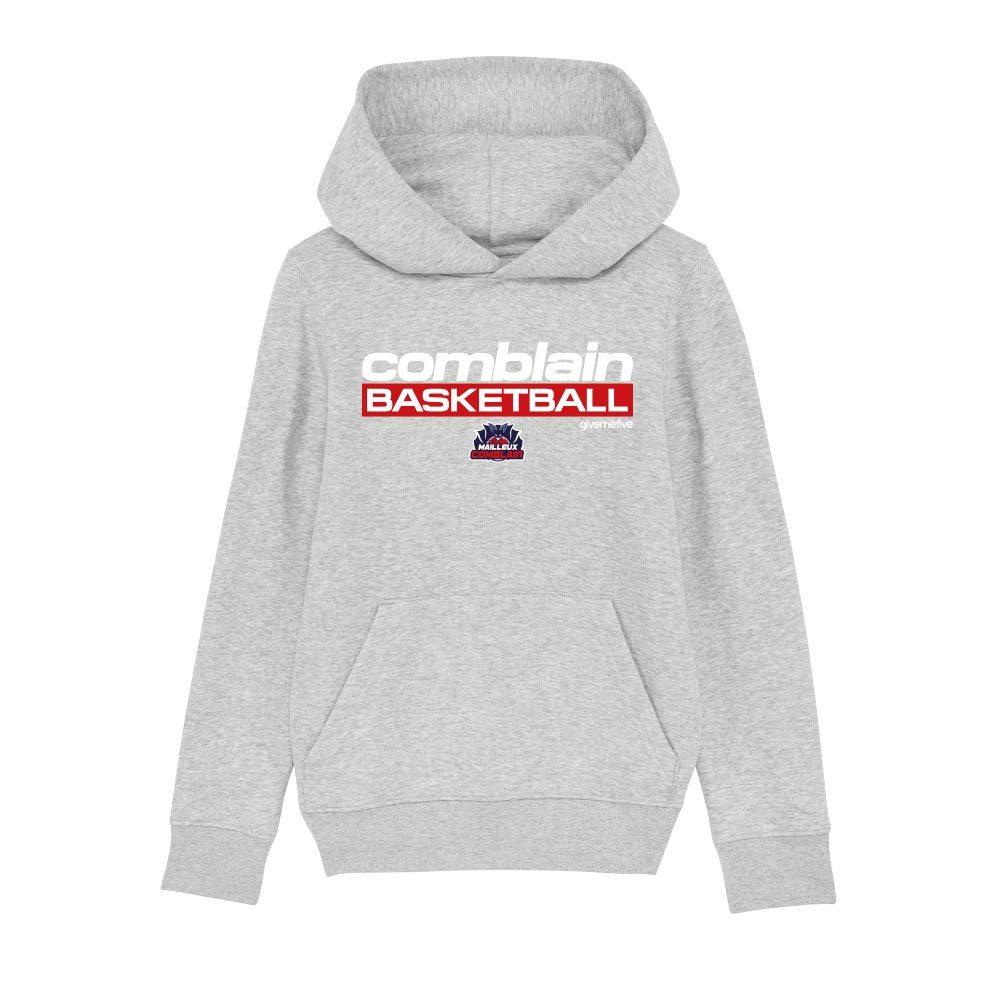 Sweatshirt capuche enfant – Comblain Basketball