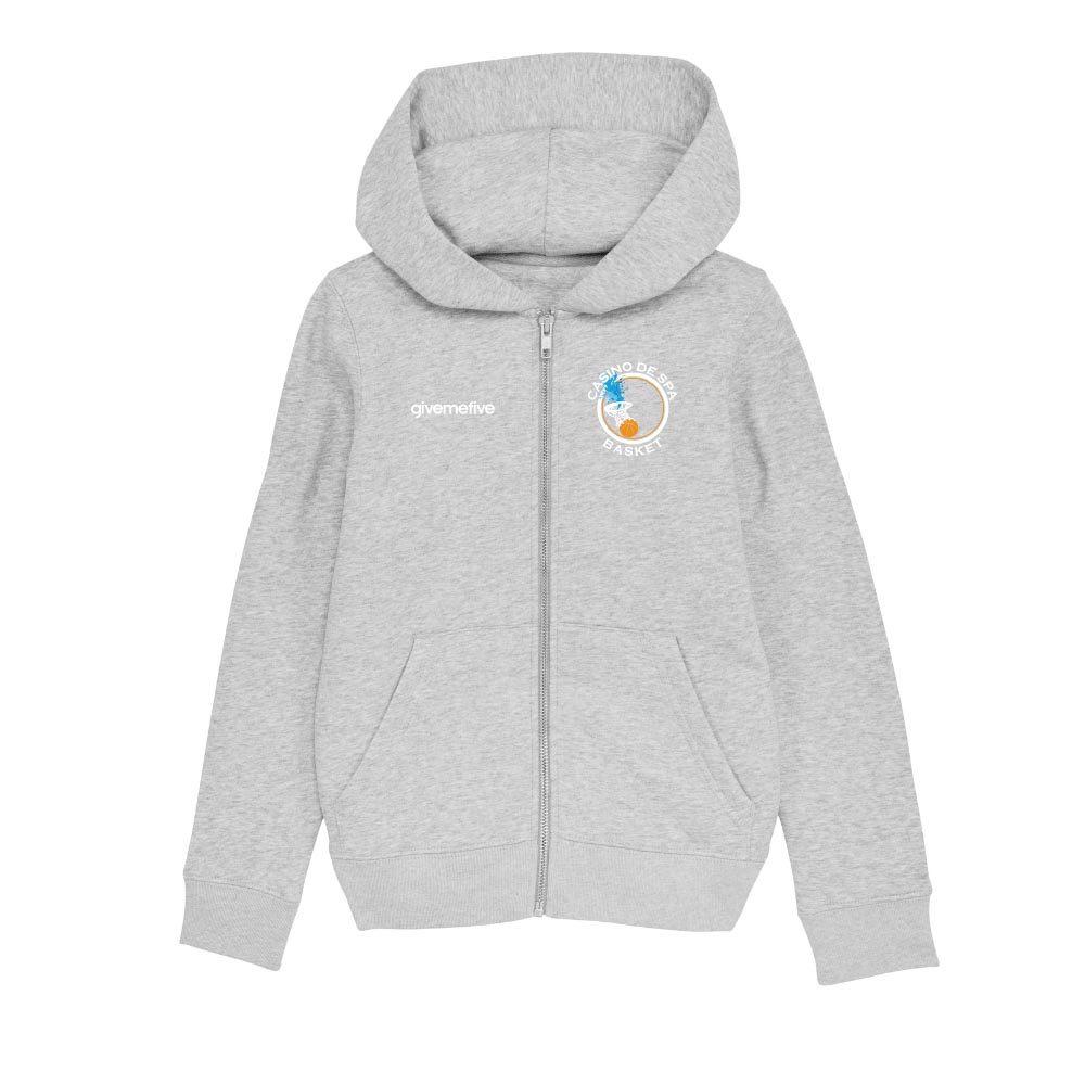 Sweatshirt capuche zip enfant – Spa Basketball