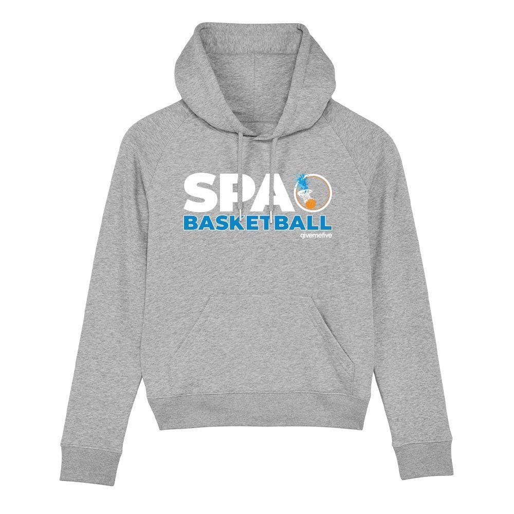 Sweat-shirt capuche femme – Spa Basketball