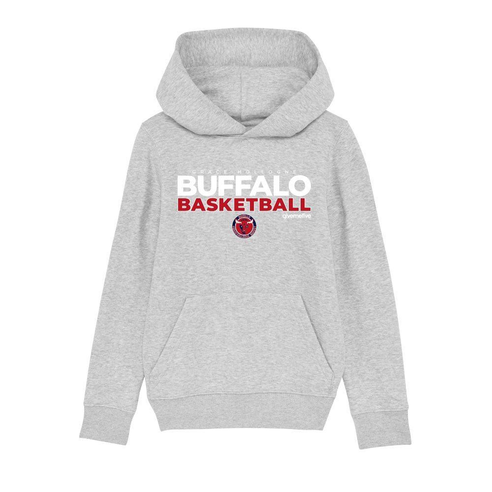 Sweatshirt capuche enfant – Buffalo Basketball