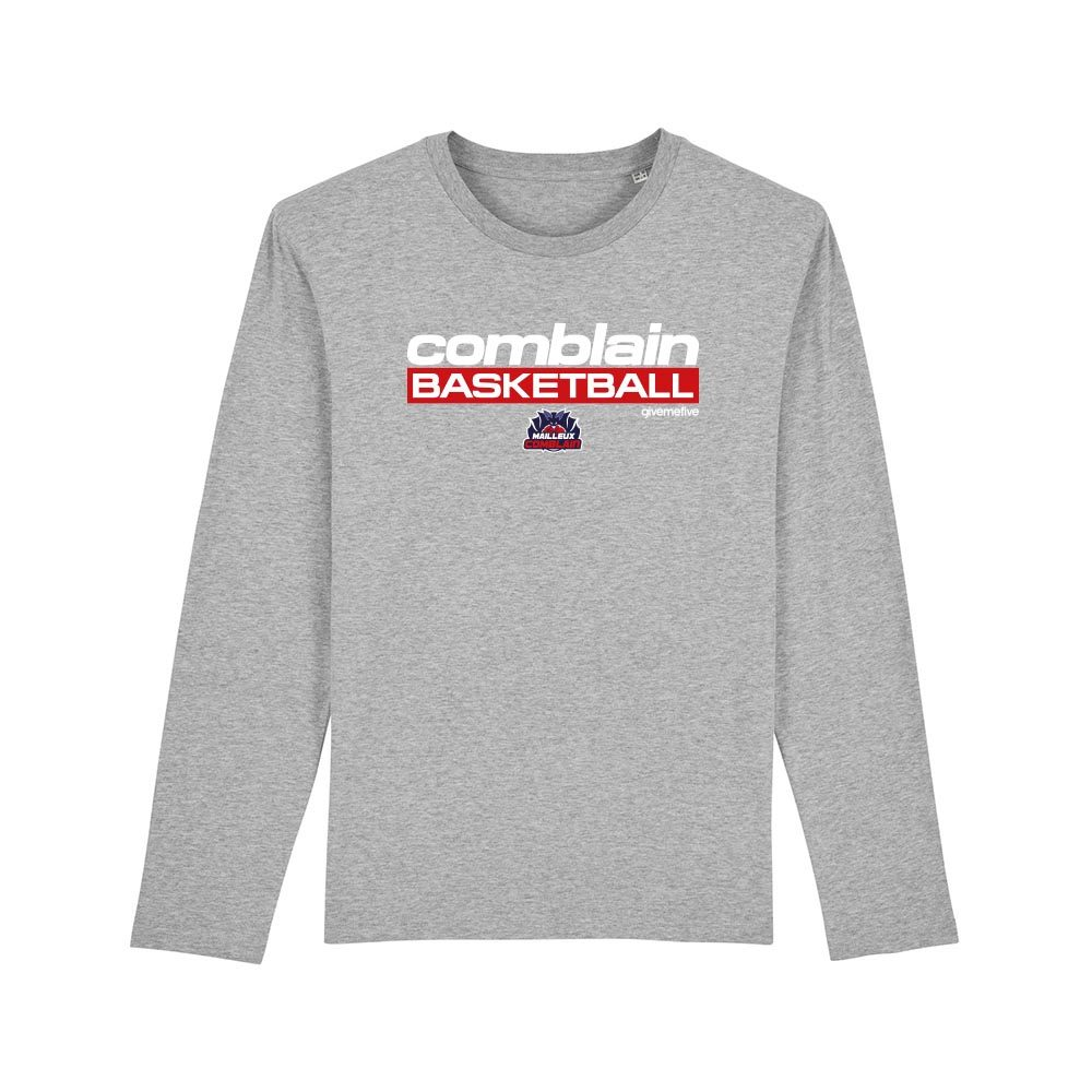 T-shirt manches longues enfant – Comblain Basketball